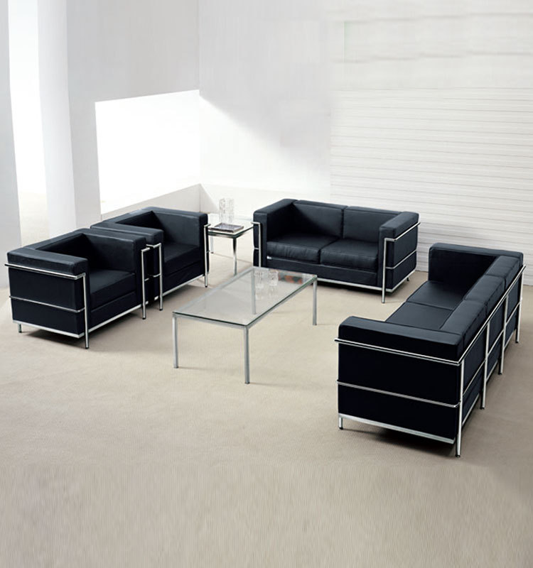 High Quality High Quality Executive Office Furniture Stainless Pipe Sofa