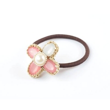 Pearl Clover new wild hair ring small hair jewelry wholesale women hair bands