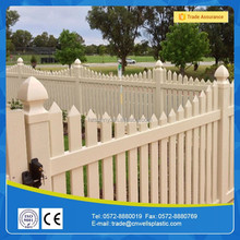 clear vinyl Plant beautiful picket fence