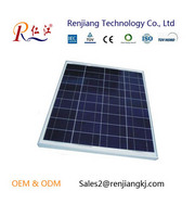 RJ Factory 156*156 36pcs 12v poly solar cell 15w solar panel for home