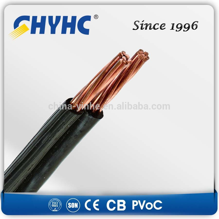 Copper core pvc insulated parallel pvc abc almelec cable buy pvc abc
