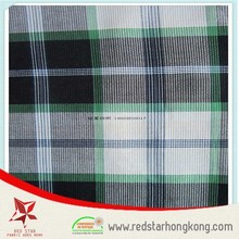 100 cotton fabric wholesale yarn dyed oxford check fabric
