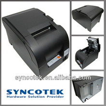 76 mm desktop POS impact printer with auto cutter