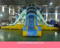 Hot Big feet inflatable wet/dry slide inflatable slide for kids SP-SL020