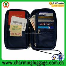 2016 fashionable document organizer passport& ID case holder travel wallet