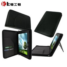Black leather cases for ipad wholesale,customize waterproof phone case