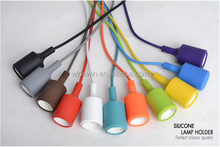 Color Incandescent/Filament/LED pendant Lamp colorful lamp holder