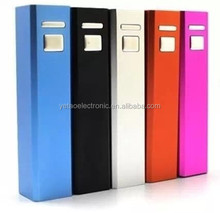 mini alloy external cube power bank for mobile phone