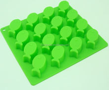 Fish shapes silicone Ice maker mold