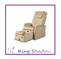 2015 Wholesale luxury pipeless whirlpool foot massage pedicure spa chair