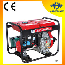 5000w small portable diesel generator,battery powered generator