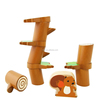 New Children educational wooden toys balance blocks birthday gifts xmas presents 2015 New Squirrel Balance