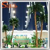 Landscaping 15ft artificial decorative metal palm trees wholesale factory manufacture artificial plastic palm trees for sale