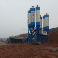 Easy operation concrete mixer plant