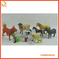 kids plastic supermarket toy set Cute cheap realistic farm animal figurines toys set AN1028666E-38