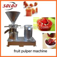 Widly used mini peanut butter machine/ fruit jam making machine/sesame seeds grinding machine