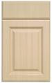 de madeira da grão do pvc armário de cozinha portas