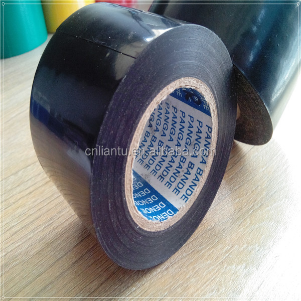 Pe coated butyl rubber adhesive gas pipe wrapping tape