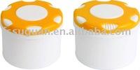 air freshener plastic box ,plastic jar with a cap