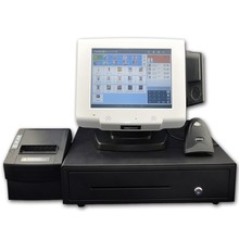 Android 4.2 OS desktop touch pos terminal for bank, hospital hall, electric power