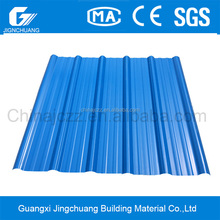 Easy installation light weight 2 layer economical plastic tile roofing