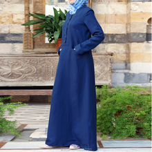 Oem services de la chine usine custom made gros trendy moyen - orient plaine abaya robe