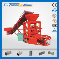 small production line QTJ4-26C concrete solid block and brick making machine