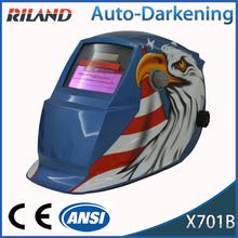 Professional TIG/MAG/TAG X701B OEM Professional Nylon Auto Darkening flip up welding helmet