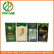 Low Pressure and Steel Material cooking oil tins