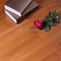 Smokey Walnut High Gloss Laminate Flooring Water resistant
