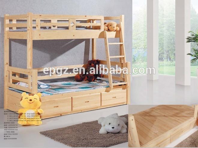 nios de madera maciza cama litera con cajn cama muebles de dormitorio conjunto