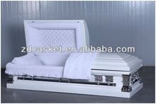 Metal Casket White