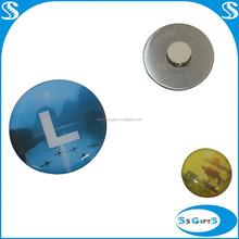 Customized logo Printing magnetic lapel pin backs