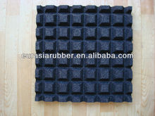 outdoor rubber basketball court tile
