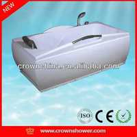 Hot sale new round acrylic bathtub,indoor whirlpool bathtub walk in bathroom acrylic hot tub