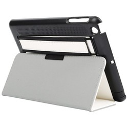 Top Supplier Flip Leather Case for iPad Mini 3/ 2/ 1 with Elastic Strap