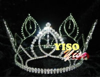 latest crystal tall pageant children's christmas crowns and tiaras
