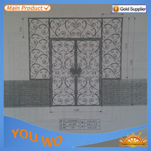 Direct Factory Price Main Gate Designs Stainless Steel With Different Powder Coating Colors Surface