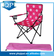 high quality folding camping chair parts with cup holder