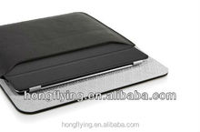 Simplicity envelope bag for iPad 5 black leather cover