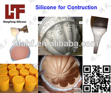 Goma de silicona para moldes de escayola FDA ROHS Goma de Silicona Líquida