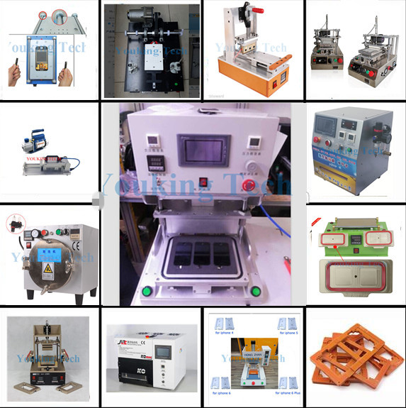 Hot sale oca lcd Glue Remover no need mould for iPhone Samsung