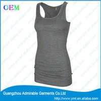 dark blue color yoga tank tops with good quality