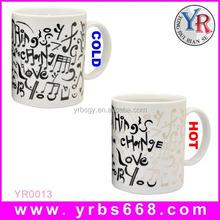 Promotion Custom Branded Color Changing Mug For Coffee