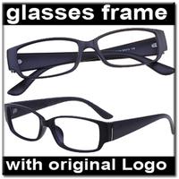 Wide Temple Eye glasses Frame No lens Decoration Frame zl037