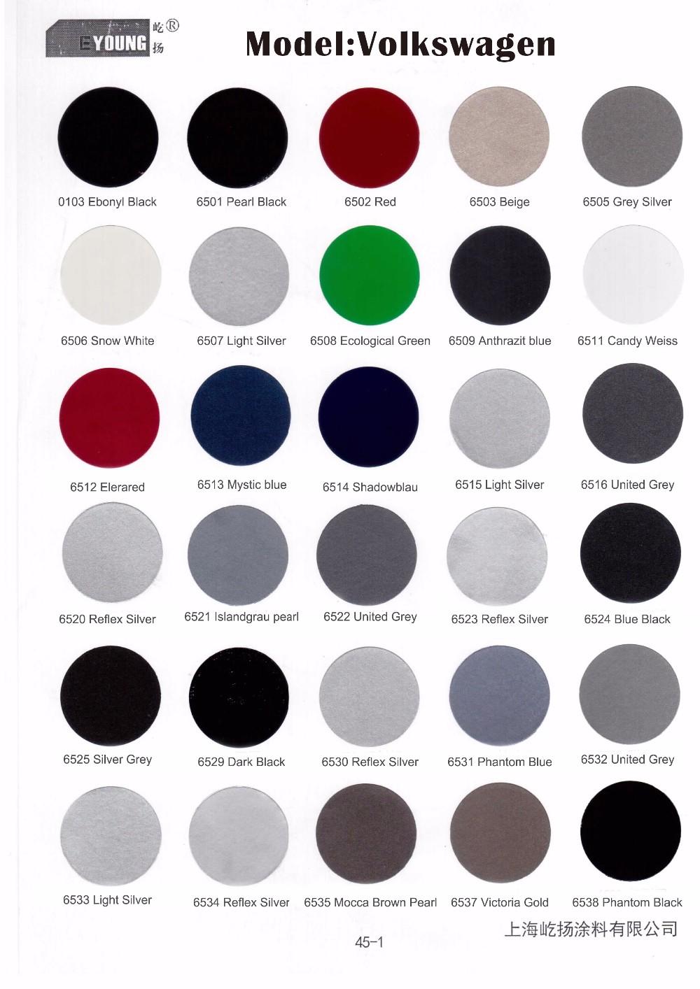 Fast Dry Color Match Скреста Автомобиля Краской