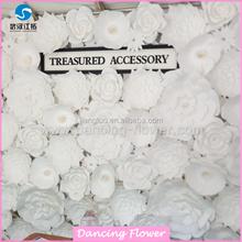 matrimonio natale decorativi fatti a mano fiori artificiali muro