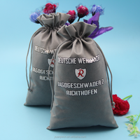 Customized low price with high quality recycle non woven drawstring bag