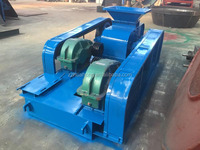 Smooth roller crusher, double smooth roll crusher with resonable price for sale