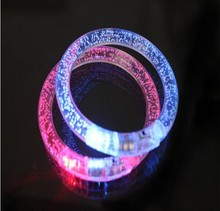 New Flashing Bracelet Wristband Straps With Happy LED Lights Bracelet Happy 2015 And New Year